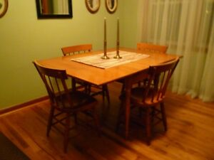 70 Danish Modern Mid Century Willett Dining Table 4 Chairs Set Very Nice