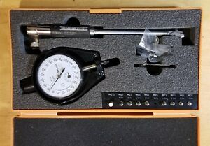 Mitutoyo Metric Dial Cylinder Gage 10 18 5mm 0 001mm With No 2109f Dial