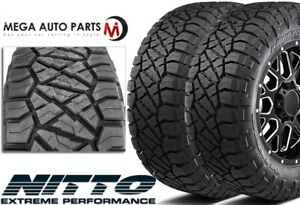 2 X New Nitto Ridge Grappler 35x13 50r20lt F 12 126q All Terrain Mud Tires