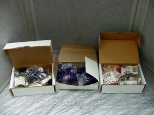 Nos Lot Of Acroprint Black 20 0106 003 Red 004 Purple Time Clock Ribbon