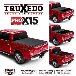 1445901 Truxedo Pro X15 Roll Up Tonneau Cover Dodge Ram 1500 5 7 Bed 2009 2018