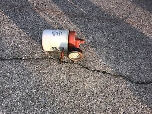 1945 Allis Chalmers B C Tractor Ac Engine Oil Filter Mount