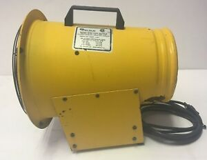 Pelsue 1325d Axial Blower 120vac 60hz 1ph 3amp 1 3hp