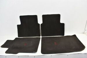 2006 2011 Honda Civic Si Floor Carpet Mat Front Rear Oem 06 11