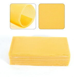 30pcs Honeycomb Foundation Beehive Wax Frames Waxing Beekeeping Equipment Bee Us