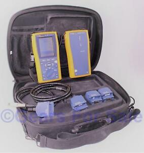 Fluke Dtx 1800 Cable Analyzer With Smart Remote In Fluke Case