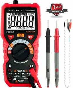 Digital Multimeter Autoranging True Rms 6000 Counts Electrical And Continuity