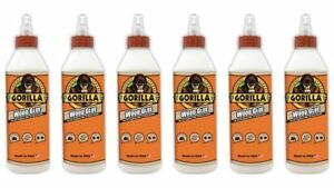 Gorilla 6205021 6 Wood Glue 6 Pack 18 Oz