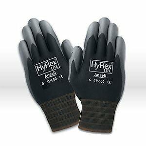 Ansell Hyflex Size 9 Black pack Of 12