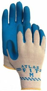 12 Pair Pack Showa Atlas Glove 300 Atlas Fit Super Grip Gloves Small