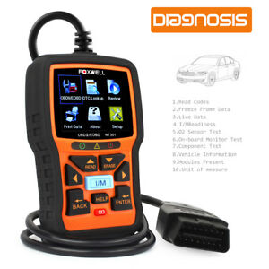 Foxwell Nt301 Obd2 Code Reader Check Engine Light Obdii Scanner Carrying Case Us