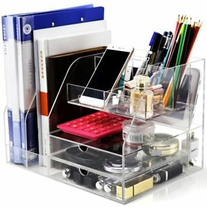 Dycacrlic Multi function Desk Organizer For Office school home Accessories