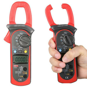 Uni t Ut203 Handheld Digital Clamp Multimeter Ac Dc Tester Power Clamp Meter