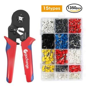 Crimp Tool Kit Gochange Crimper Plier Wire Terminal And Connection Kit With