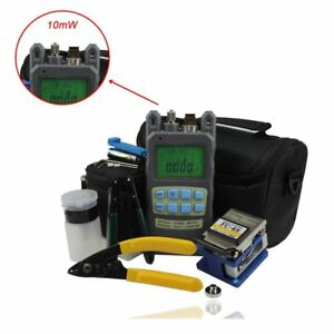 Zoostliss 8 In 1 Fiber Optic Ftth Tool Kit With Fc 6s Fiber Cleaver And 2 In 1