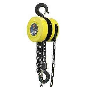 Neiko 02182a Chain Hoist Winch Pulley Lift 1 Ton 15 Feet