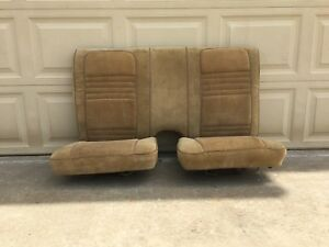 1974 1981 Pontiac Firebird Trans Am Back Seats Rear