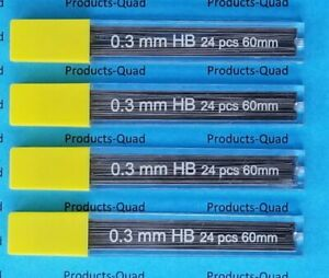 0 3 Mm Mechanical Pencil Lead Refills 3mm Leads Refills 96 Lead Refill 0 3 Mm