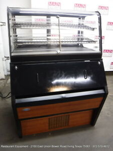 Federal Industries Cd4828ss Open Combo Refrigerated dry Bakery Display Case