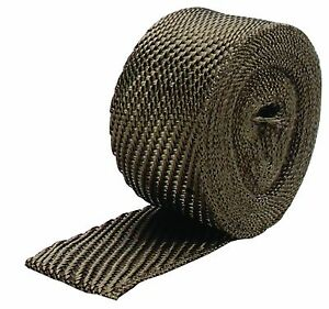 Dei 2 Wide X 33ft Roll Titanium Fiber Header Exhaust Manifold Heat Wrap 010125
