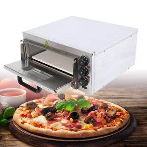 Pizza Oven 16 Kitchen Counter Top Grill 2kw Commercial Bake Stove Bread Roaster