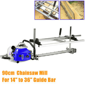 Chainsaw Guide Bar Chain Saw Mill Log Planking Lumber Cutting Fit 14 36