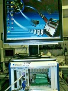 National Instruments Pxi 8176 Cpu Tested With Hard Drive And Win2000 Os