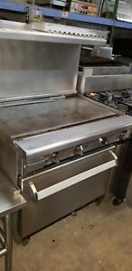 Imperial 36 Griddle With Oven nat Gas 90 Day Warranty