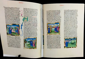 The Furtmeyr Bible 1465 Ad Facsimile