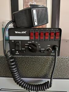 Whelen 200 Watt Siren And Federal Signal Dynamax Speaker