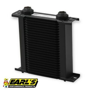 Earls Ultrapro Narrow Oil Cooler P N 225erl 25 Row Cooler Only Free Ship