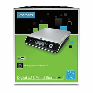Dymo 1772059 M25 Digital Postal Scale 25lb Usb Connect Pc mac Compatible