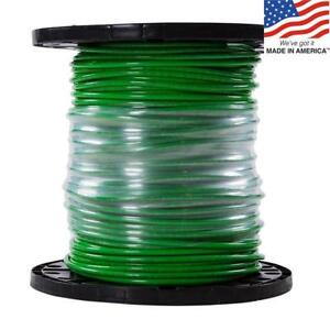 500 ft 6 awg Stranded Green Copper Thhn Wire