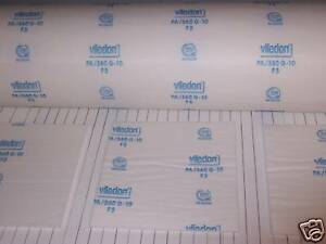 Viledon Pa 560 G 10 Spray Paint Booth Ceiling Filters 8 72 X 84