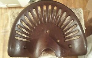 Cast Iron Tractor Seat 147