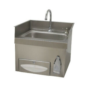 Advance Tabco Single Countertop Hand Sink With Faucet