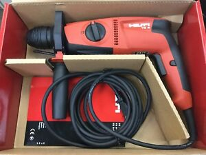 Hilti Hammer Drill Kit Te 2 120 volt Sds plus Concrete Drilling Tools