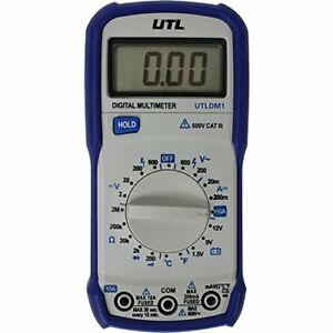 Uei Test Instruments Utldm1 600v Manual Ranging Digital Multimeter With Temperat