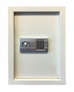 Offex Durable Steel Wall Safe With Electronic Keypad Lock