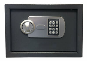 Offex Solid Steel Safe Box With Electronic Keypad Lock