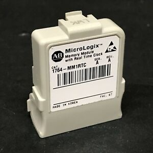 Allen Bradley 1764 mm1rtc Micrologix 1500 Memory For 1764 lrp Or 1764 lsp Cpu