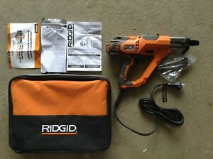 Ridgid R6791 Drywall Deck Collated Screwdriver W Soft Case
