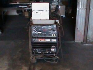 Lincoln Idealarc 300 300 Welder 208 230 460 Volts With Cooler Unit