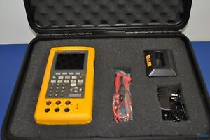 Fluke 743b Documenting Process Calibrator Nist Calibrated With Warranty