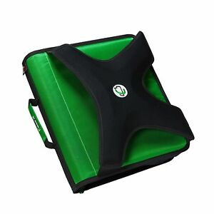Case it X hugger 2 inch Round Ring Zipper Binder With Book Holder On Front G