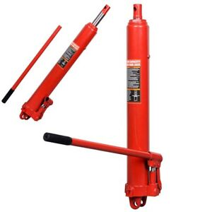 22000lbs 10 Ton Hydraulic Jack Hand Pump Manual Engine Lift Hoist Portable