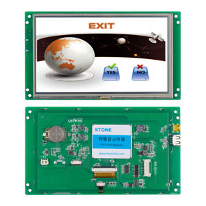 7 800x480 Graphic Tft Lcd Module Rs232 usb For Industrial Hmi Lcd