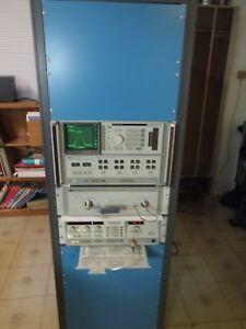 Hp Agilent 8510b Network Analyzer System W 8515a Test Set 8350b 10mhz 26ghz