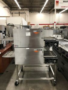 Lincoln 1132 Double stack Electric Impinger Ii Conveyor Ovens Refurbished
