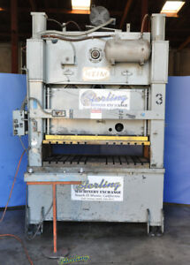 150 Ton X 4 Used Heim Straight Side Punch Press S150 5915